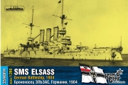 3590 - German Battleship SMS Elsass, 1904