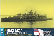 British Monitor HMS M27, 1/700